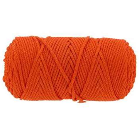 Craft Cord - 2mm orange bonnie braided macrame craft cord hobby lobby