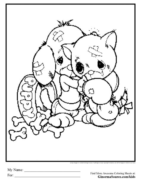baby kitten coloring pages az coloring pages