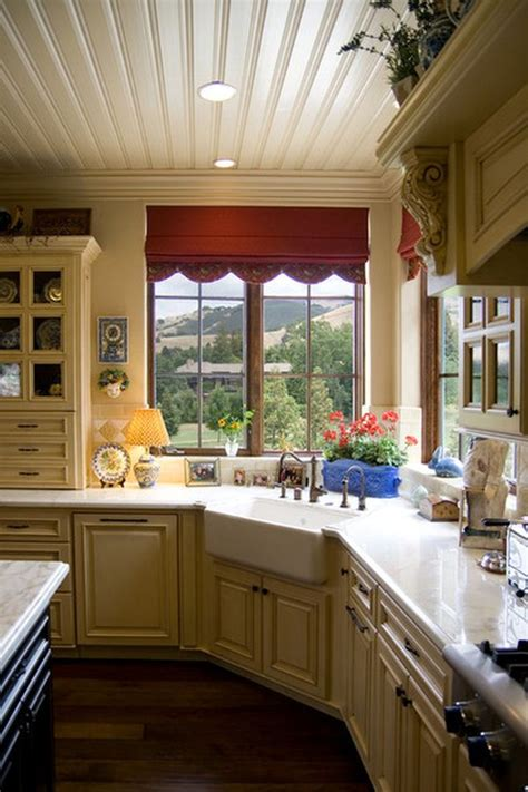 Kitchen Bay Window Treatment Ideas is a corner kitchen sink right for you solving the dilemma