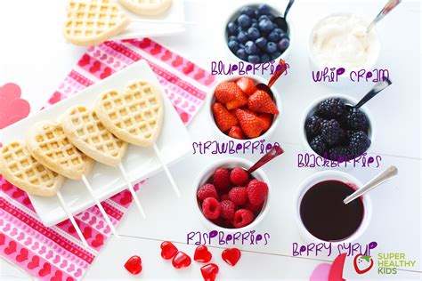 toppings for waffle bar valentines waffle bar for kids