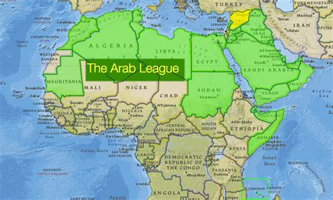 arab league map arab league to create joint nat geo