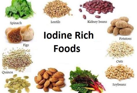 fruits w potassium iodine rich foods foods high in iodine