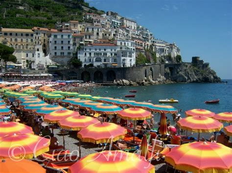 Favorite Color Meaning a guide to the beaches of amalfi ciao amalfi