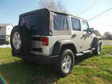 Jeep Wrangler No Doors by Sell Used No Reserve 2007 Jeep Wrangler Unlimited X