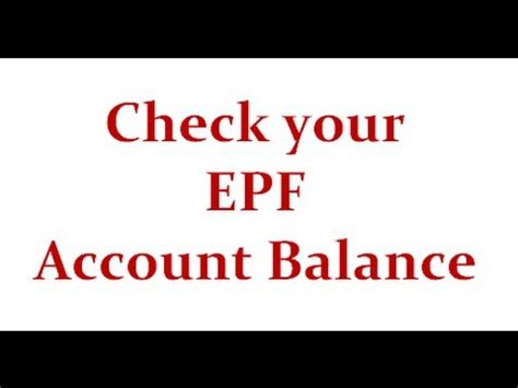 Salary Account Statement For here are five simple steps to can check your epf account