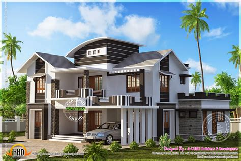 well designed houses well designed villa exteriors kerala home design and