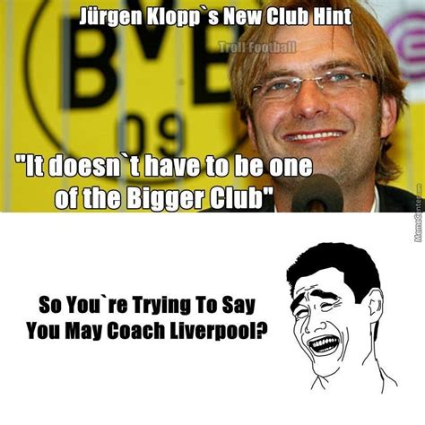 Liverpool Memes - klopp gt gt liverpool by mikejohnson meme center