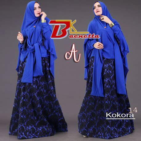 Gamis Modern Cantik 14 kokora 14 a baju muslim gamis modern