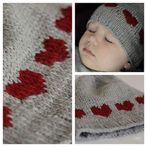 ravelry patterns library little hearts ravelry heart hat for baby pattern by eba design