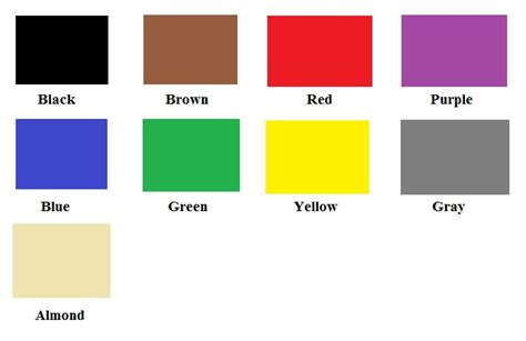 toddler color chart colors chart for www imgkid the image kid has it