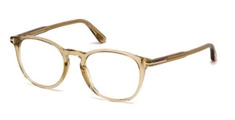 light brown eyeglass frames tom ford ft5401 eyeglasses frames