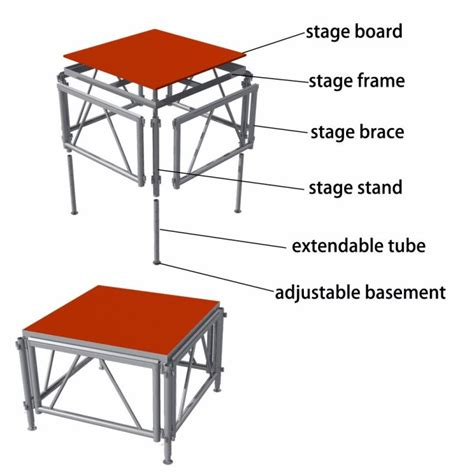 Lu Sorot Panggungl Stage Sdj 1 aluminum perfromance stage platform truss system manufacturers and suppliers china factory
