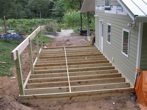 Brainright Shed Addition House Floor Joists Construction