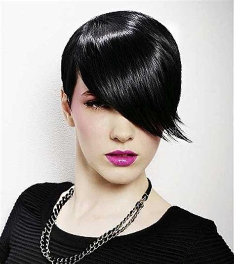 Jet Black Short Hair | 25 best short hair color short hairstyles 2016 2017