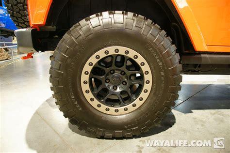 mopar beadlock wheels 2014 sema jeep jk wrangler mopar mojo