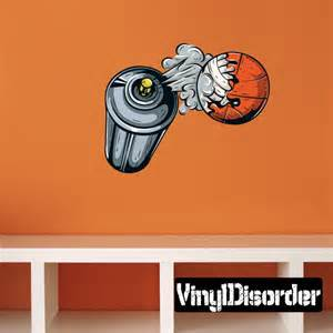 Graffiti Wall Stickers Basketball Graffiti Wall Decal Vinyl Car Sticker