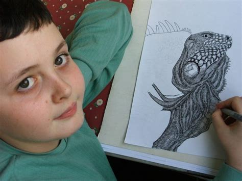 painting 9 year 11 year child prodigy creates unbelievably intricate