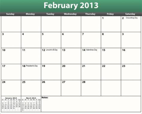 Feb 2013 Calendar Printable Pdf February 2013 Calendar