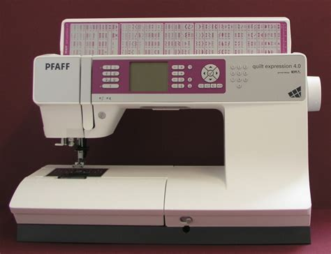 Pfaff Quilt Expression 4 0 by Www Naehmaschinen Discounter De Pfaff Quilt Expression 4 0