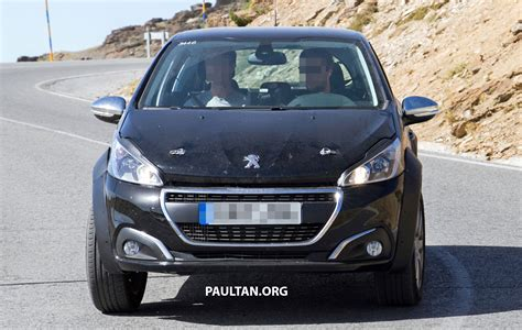 peugeot 1008 used spyshots peugeot 1008 compact crossover on test paul
