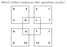 letter logic worksheets logical reasoning number series questions with answers