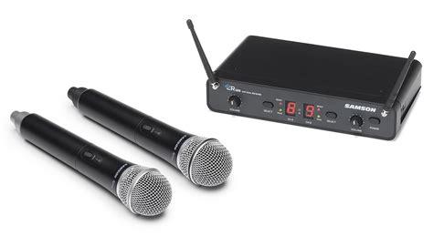 Samson Concert 288 Handheld Dual Channel Wireless System Isi 2 Mic samson concert 288 handheld dual channel wireless system