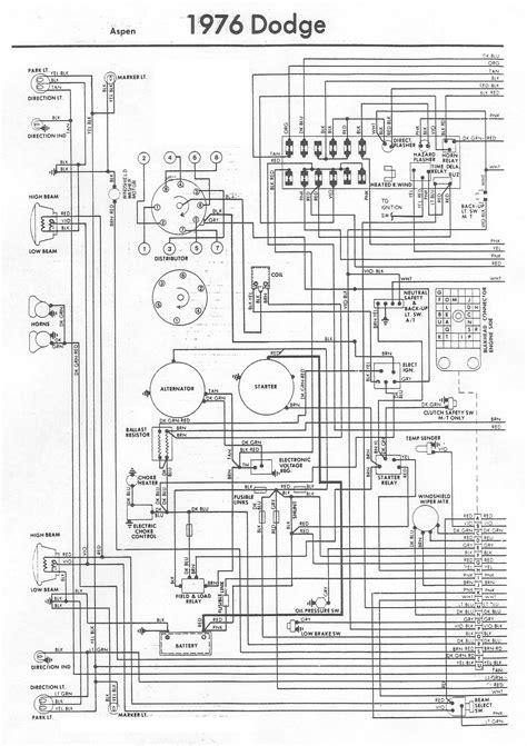 dodge wiring diagrams gt circuits gt 1976 dodge aspen wiring diagram l31613 next gr