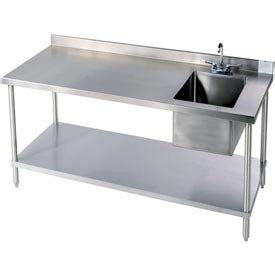 under bench sinks stainless steel work benches stainless steel workbench
