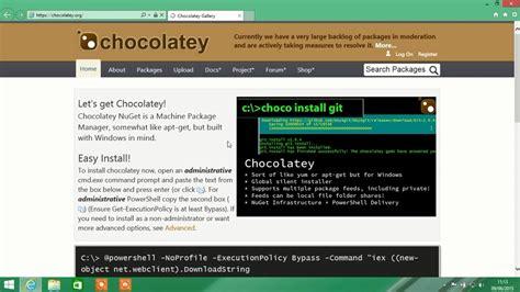 tutorial apt get tutorial usando o chocolatey apt get yum para windows