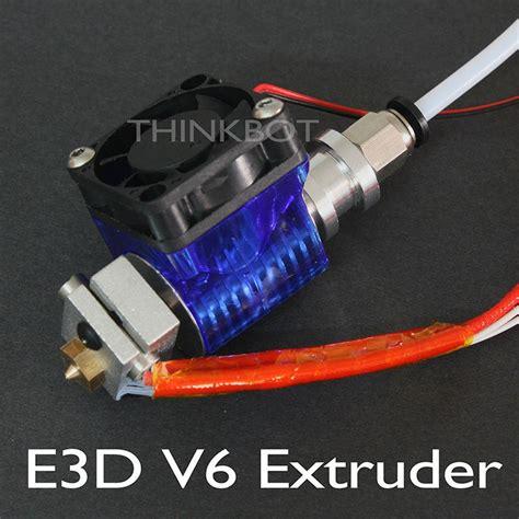Reprap 3d Printer E3d V5 1 75 Mm Remote Block 3d printer extruder e3d v6 parts accessories e3d v6 end kit 1 75mm 12v bowden reprap