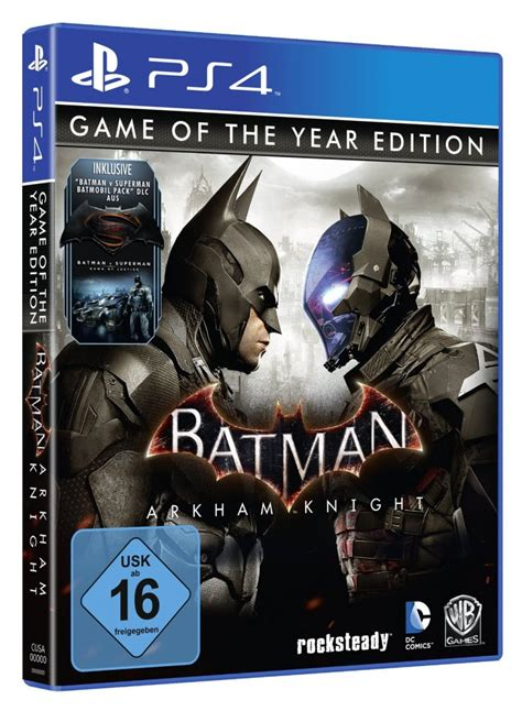Kaset Ps4 Batman Arkham Of The Year Edition batman arkham of the year edition outed by