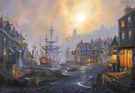 ship inn st ives maritime by st ives artist donald macleod