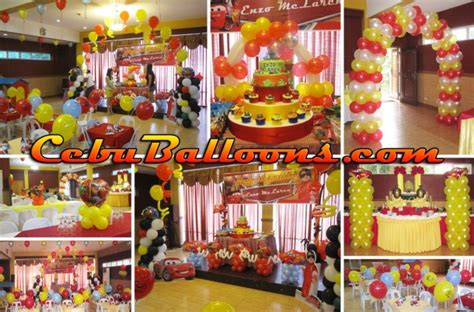 Mexican Home Decor Stores cars lightning mcqueen cebu balloons and party supplies