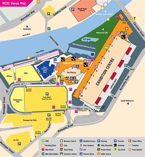 Crown Casino Floor Plan by Melbourne Convention Centre Save On Cheap Car Hire