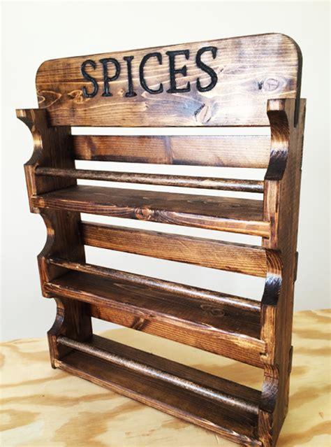 diy spice rack myoutdoorplans  woodworking plans