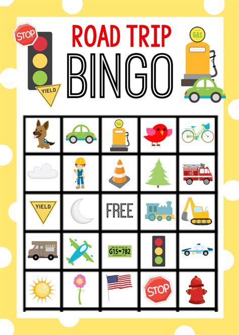 printable road trip bingo road trip bingo www pixshark com images galleries with