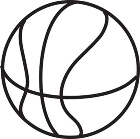 basketball clipart black and white basketball clipart image clip illustration of a