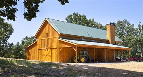 Impressive 24 215 60 Great Plains Western Barn Home With 14ft