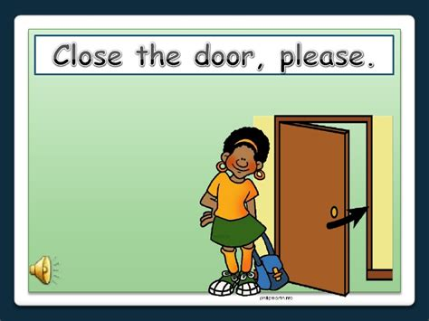 Does Ups Come To Your Door by Classroom Language Powerpoint