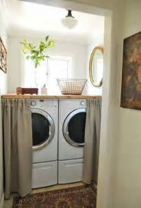 Laundry Room Decor Ideas Laundry Room Decorating In A Small Space