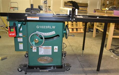 grizzly cabinet saw review review grizzly 1023rlw 10 quot 3 hp 220v table saw by