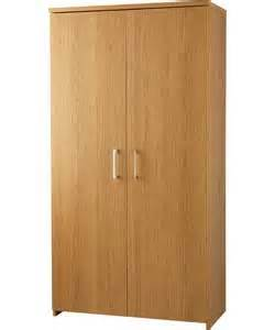Argos Kitchen Cabinets Buy Walton Tall 2 Door Cupboard Oak Effect At Argos Co