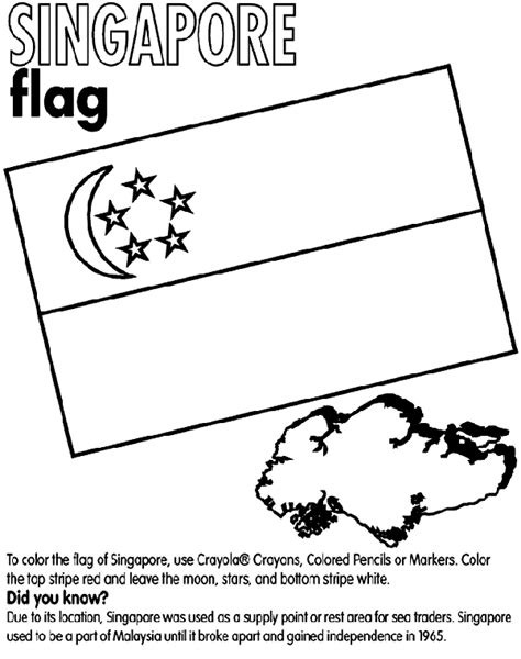 flag coloring pages crayola singapore crayola com au