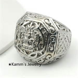 large rings ring fashion big rings for mens church cross pattern