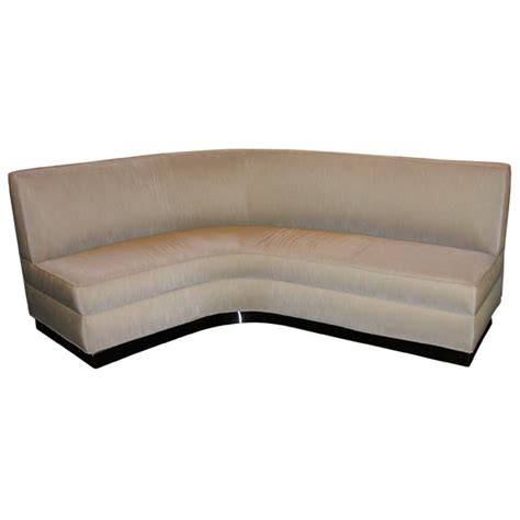 j shaped couch v shaped sofa by jean royere at 1stdibs