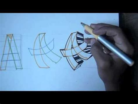 tutorial graffiti youtube step by step how to draw graffiti tutorial 2 of 3 youtube