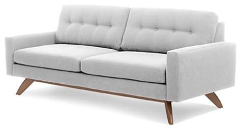 True Modern Sofa Truemodern Sofa Calvin Ivory Contemporary Sofas By True Modern