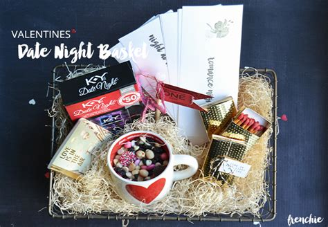 valetines date night ideas and gift basket