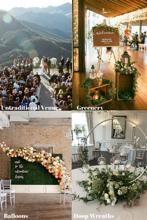 wedding decor trends 2019   Monika Boch Blog