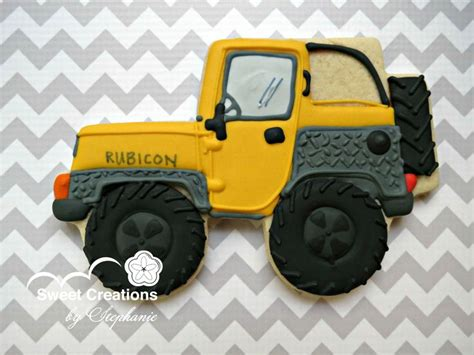jeep cookies custom jeep cookie by creations by
